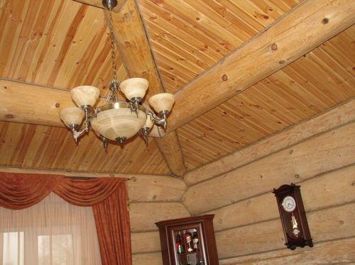 Выравнивание потолков в деревянном доме своими руками фото 608