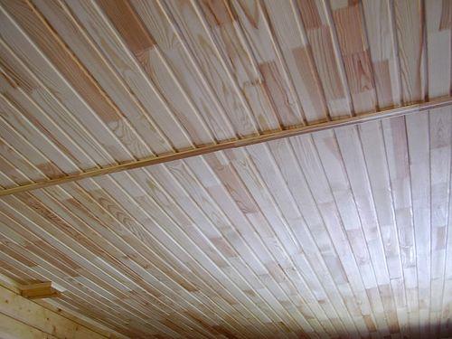 Потолок дерево дизайн