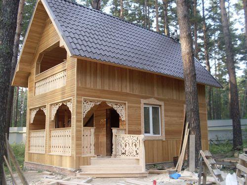 Отделка загородного дома