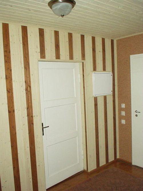 Покраска деревянной вагонки внутри дома: фото стен, видео как покрасить