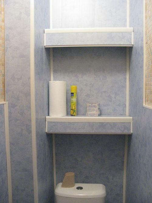 Как обшить туалет пластиковыми панелями своими руками видео